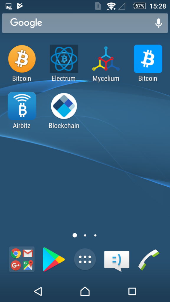 Android кошельки Биткоин